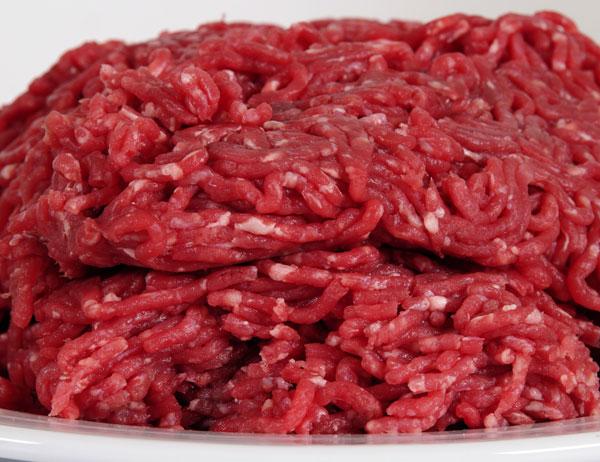 Carne Picada Común. Primera Calidad: $165.00 el kg.