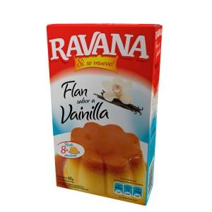 Flan Ravana Vainilla / Dulce de Leche $20.00